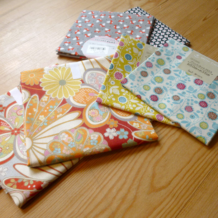 Japanese fabrics for craft projects