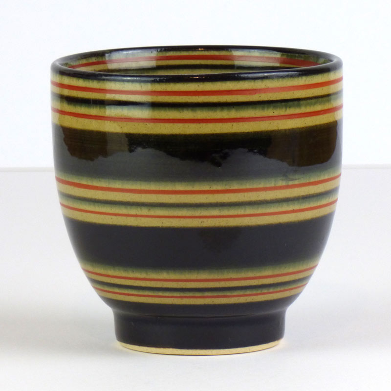 'Tenmoku' Arita ware traditional Japanese tea cup