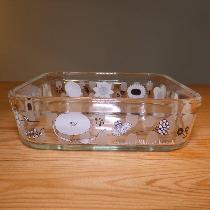 Large Glass Storage Container With Plastic Lid