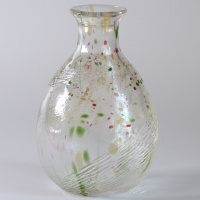 'Aki' design glass sake serving jug