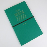 Freestyle notebook in green 'forest' front cover