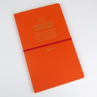 Freestyle notebook in orange 'sunset'
