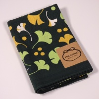 Dark green furoshiki wrapping cloth