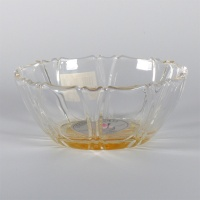 'Kakigori' design glass bowl (orange))