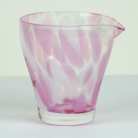 Pink 'Sakura' glass jug