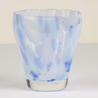 Blue 'Sora' glass jug