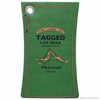 'Tagged Life Gear' Japanese notepad with Green Everest cover