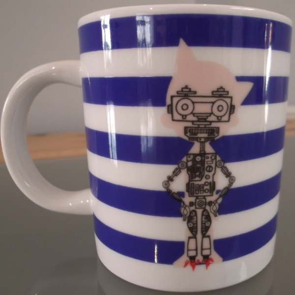 Atom Astro Boy Mug inner workings detail