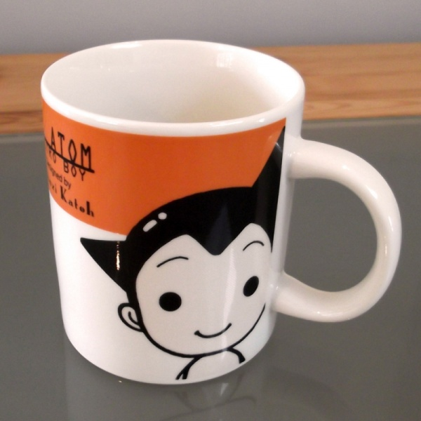 Atom Astro Boy Mug front top view