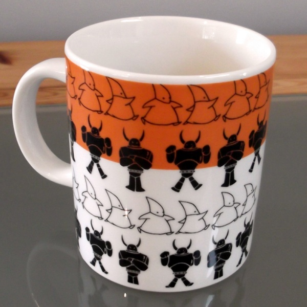 Atom Astro Boy Mug reverse top view