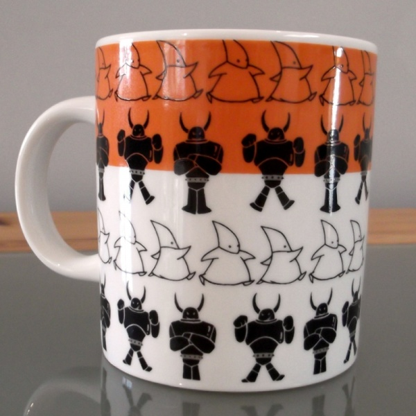 Atom Astro Boy Mug back view