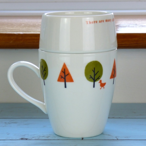 'Drive in the Park' cafe mug set by Shinzi Katoh