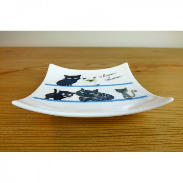 Kitten design square plate profile