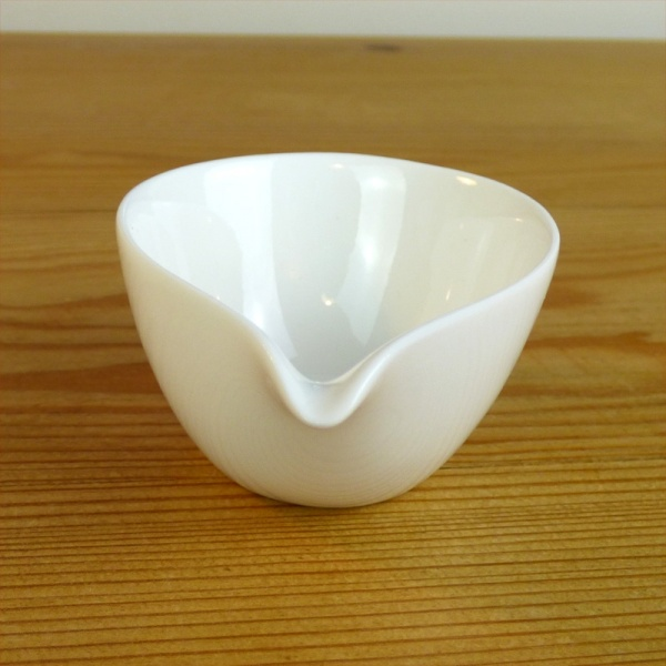 Small white milk jug