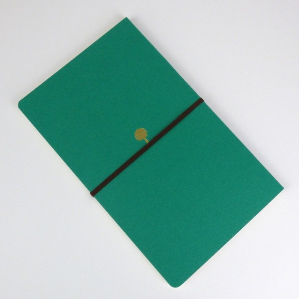 Freestyle notebook in green 'forest' back cover