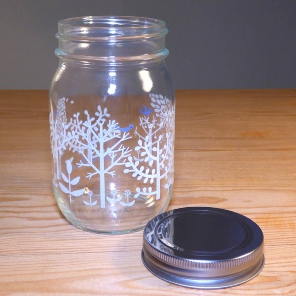 450ml Glass Storage Jar