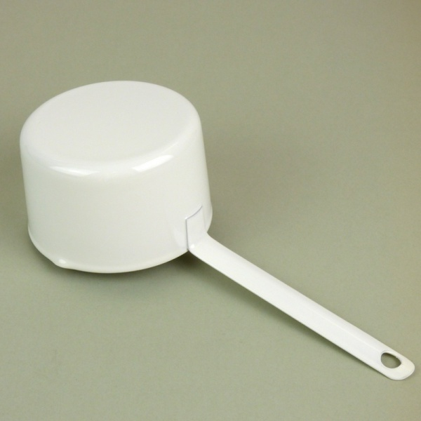 200ml white enamel measuring cup