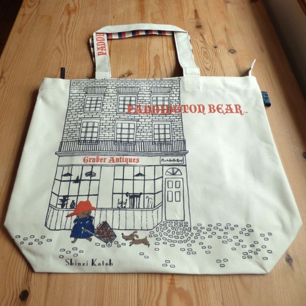 Paddington Bear canvas tote bag