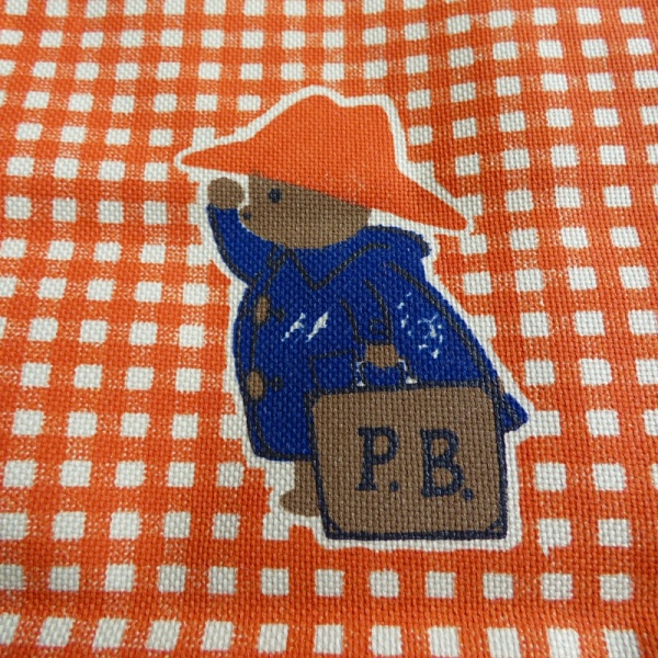 Paddington Bear canvas tote bag - detail