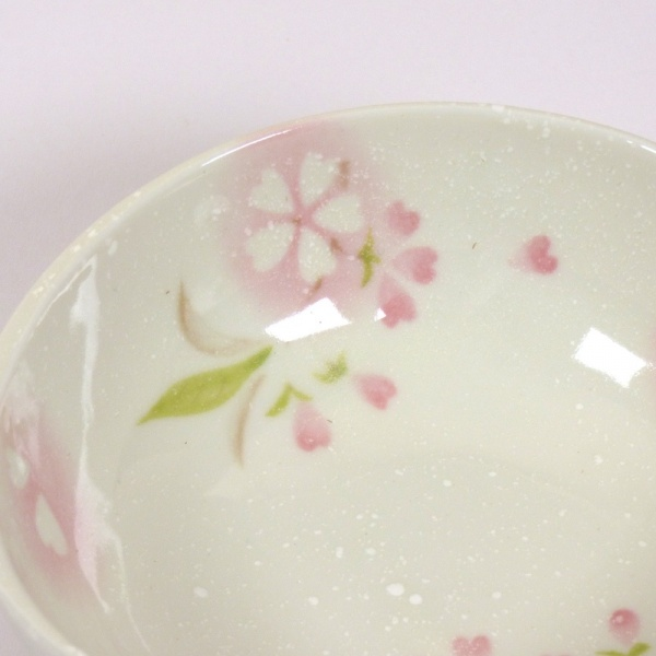 'Petal' porcelain bowl in pink close up