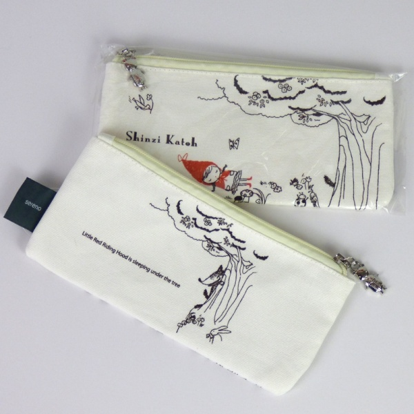 Red Riding Hood pencil case - front & back