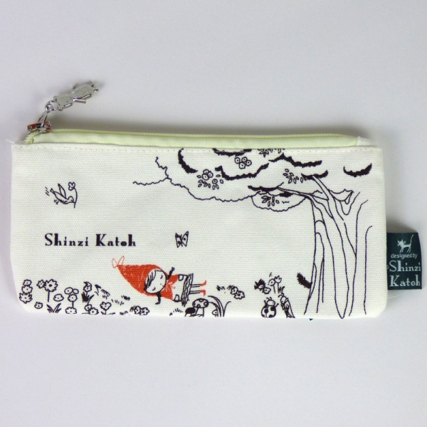 Red Riding Hood pencil case - front