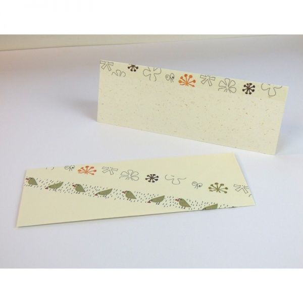 Washi tape designs on cards