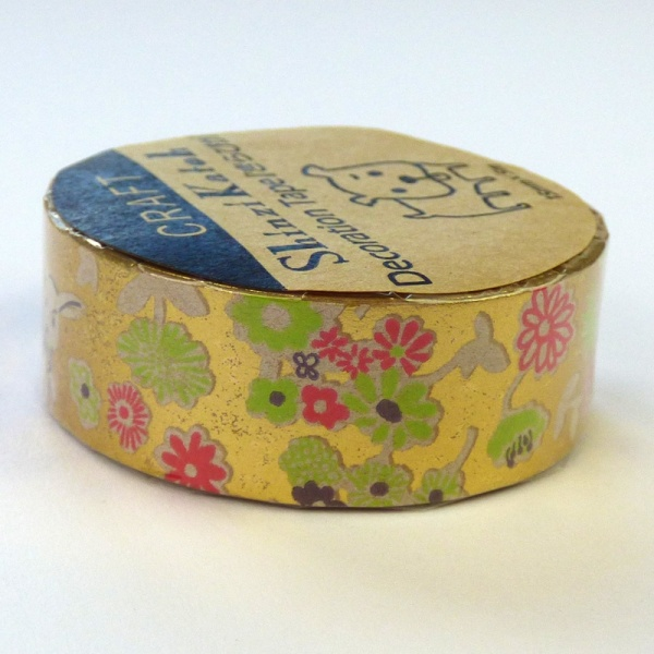 White Rabbit metallic washi tape